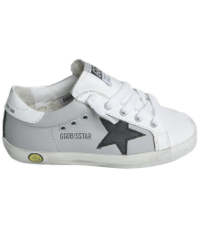 Golden Goose Superstar GREY Golden Goose Superstar white leather