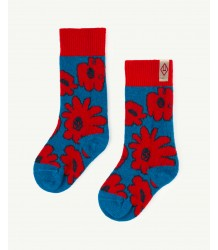 The Animals Observatory Snail Socks The Animals Observatory Snail Socks red