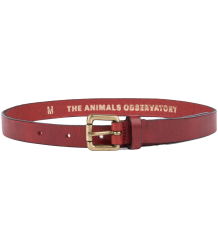 The Animals Observatory IBIS BELT Leather The Animals Observatory IBIS BELT Red