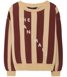 The Animals Observatory Bear Kids Sweatshirt STRIPES The Animals Observatory Bear Kids Sweatshirt STRIPES