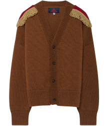 The Animals Observatory Peasant Kids Cardigan The Animals Observatory Peasant Kids Cardigan