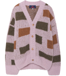 The Animals Observatory Peasant Kids Cardigan ARTY The Animals Observatory Peasant Kids Cardigan ARTY