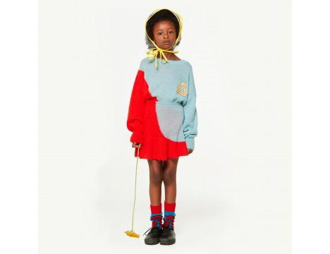 The Animals Observatory Bull Kids Sweater TRIANGLE