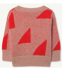 The Animals Observatory Bull Babies Sweater GEOMETRIC The Animals Observatory Bull Babies Sweater GEOMETRIC