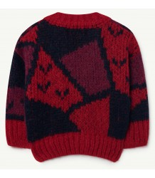 The Animals Observatory Peasant Babies Cardigan ARTY The Animals Observatory Peasant Babies Cardigan ARTY