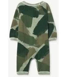 The Animals Observatory Owl Babies Suit CAMOUFLAGE The Animals Observatory Owl Babies Suit CAMOUFLAGE