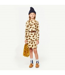 The Animals Observatory Crab Kids Dress LEOPARD The Animals Observatory Crab Kids Dress LEOPARD