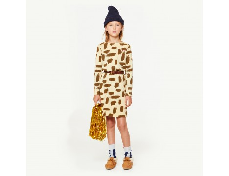 The Animals Observatory Crab Kids Dress LEOPARD