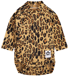 Mini Rodini Basic LEOPARD NB Wrap Body Mini Rodini Basic LEOPARD NB Wrap Body