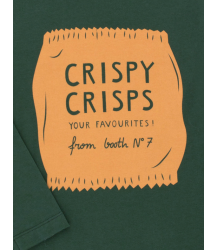 Tiny Cottons Graphic Tee CRISPY CRISPS Tiny Cottons Graphic Tee CRISPY CRISPS