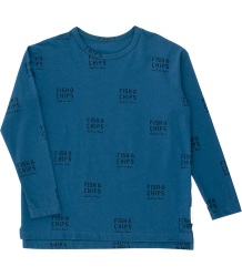 Tiny Cottons LS Relaxed Tee FISH & CHIPS Tiny Cottons LS Relaxed Tee FISH & CHIPS