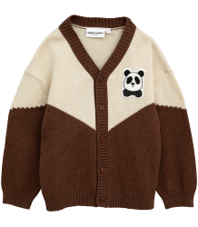 Mini Rodini PANDA Knitted Wool Cardigan Mini Rodini PANDA Knitted Wool Cardigan