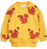 Mini Rodini SQUIRREL Sweatshirt Mini Rodini SQUIRREL Sweatshirt yellow