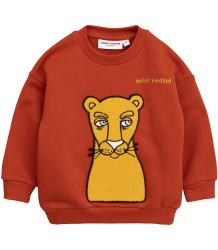 Mini Rodini CAT PATCH Sweatshirt Mini Rodini CAT PATCH Sweatshirt