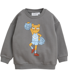 Mini Rodini CHEERCAT SP Sweatshirt Mini Rodini CHEERCAT SP Sweatshirt grey