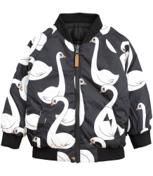 Mini Rodini Reversible Insulator Jacket SWAN Mini Rodini Reversible Insulator Jacket SWAN