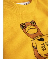 Mini Rodini FROG SP Terry Sweatshirt Mini Rodini FROG SP Terry Sweatshirt yellow