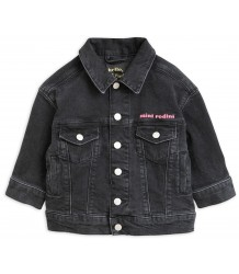 Mini Rodini CHEER CAT Denim Jacket Mini Rodini CHEER CAT Denim Jacket