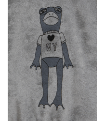 Mini Rodini FROG SP Terry Sweatshirt Mini Rodini FROG SP Terry Sweatshirt grey