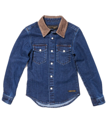 Finger in the Nose Dao Shirt  Finger in the Nose - Dao Shirt - raw denim blue