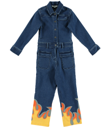 Stella McCartney Kids Keira DENIM FLAME Overall Stella McCartney Kids Keira DENIM FLAME Overall