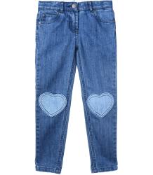 Stella McCartney Kids HEART DENIM Trouser Stella McCartney Kids HEART DENIM Trouser