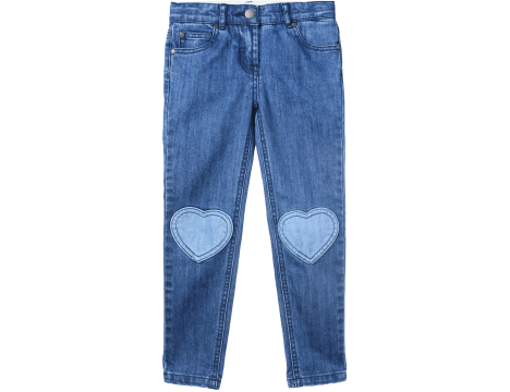 Stella McCartney Kids HEART DENIM Trouser