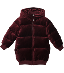 Stella McCartney Kids Ruby VELVET Puffer Stella McCartney Kids Ruby VELVET Puffer