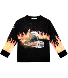 Stella McCartney Kids Arlie Sweater CAR FLAMES EAGLE Stella McCartney Kids Arlie Sweater CAR FLAMES EAGLE
