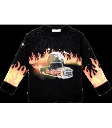 Stella McCartney Kids Arlie Sweater CAR FLAMES EAGLE