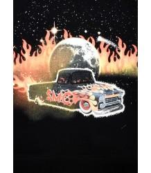 Stella McCartney Kids Arlie Sweater CAR FLAMES EAGLE Stella McCartney Kids Arlie Sweater CAR FLAMES EAGLE