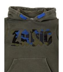 Zadig & Voltaire Kids Alvin Hooded Sweatshirt ZADIG Zadig & Voltaire Kids Hooded Sweatshirt ZADIG