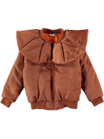 Beau LOves Ruffle Neck Bomber Jacket Beau LOves Ruffle Neck Bomber Jacket