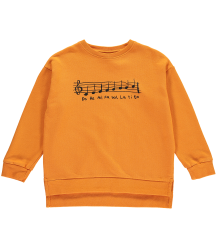 Beau LOves Relaxed Fit Sweater DO RE MI Beau LOves Relaxed Fit Sweater MUSIC orange