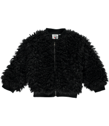 Beau LOves Baby Furry Jacket Beau LOves Baby Furry Jacket black