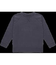 Repose AMS Sweat T-shirt GRIJS-BLAUW Repose AMS Sweat Tee greyish blue