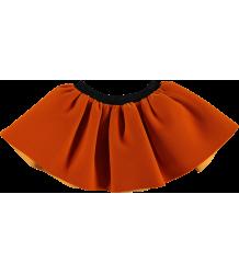 Caroline Bosmans Neoprene MiniSkirt VELVET Caroline Bosmans Printed Neoprene MiniSkirt VELVET orange