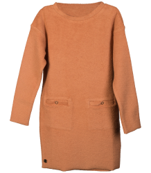 Little Hedonist LENA Dress Terry Little Hedonist LENA Dress copper