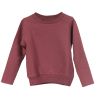 Little Hedonist CAECILIA Sweater Little Hedonist XAM Sweat Coat burgundy