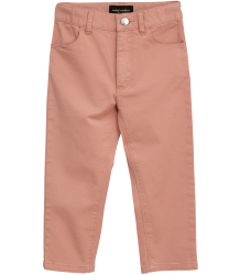 Mini Rodini CAT CAMPUS Twill Trousers Mini Rodini CAT CAMPUS Twill Trousers pink