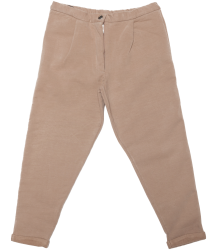 Mingo Cropped Chino Sweat Pants Mingo Cropped Chino Sweat Pants brownie