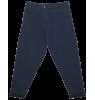 Mingo Cropped Chino Sweat Pants Mingo Cropped Chino Sweat Pants black iris