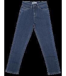 Mingo Straight Jeans Donker Blauw Mingo Straight Jeans indigo blue