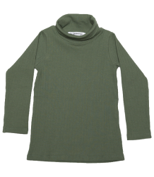 Mingo Rib Turtle Neck Tee Mingo Rib Turtle Neck Tee duck green