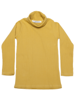 Mingo Rib Turtle Neck Tee Mingo Rib Turtle Neck tee sauterne yellow