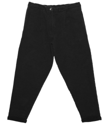 Mingo Cropped Chino Sweat Pants Mingo Cropped Chino Sweat Pants black