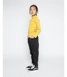 Mingo High Waisted / Mum Jeans Zwart Mingo High Waisted Jeans black denim