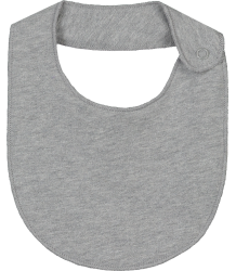Gray Label Baby Bib (New Fabric) Gray Label Baby Bib New grey melange