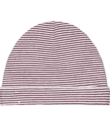 Gray Label Baby Beanie New STRIPED Gray Label Baby Beanie New STRIPES Plum