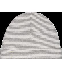 Baby Beanie STRIPED (New Fabric) Gray Label Baby Beanie New STRIPES grey